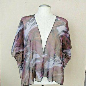 NEW Sheer Kimono 2X